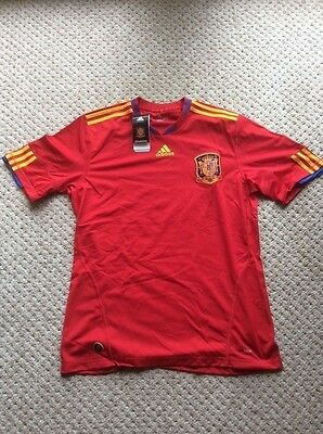 Official Adidas Spain World Cup Winners Shirt -Brand New with tags- Size L