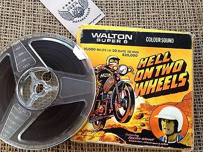 Hell On Two Wheels - Walton Super 8 - featuring Julian Grant - Colour/Sound