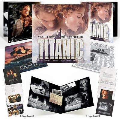 Titanic - 2 x LP Gatefold Vinyl + Extras - Limited Edition - James Horner