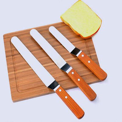 Cream Smoother Butter Knife Icing Spreader Scraper Knife Fondant Pastry Cutter
