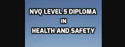 NVQ LEVEL 5 Diploma in Health and Safety Practice Complete Coursework