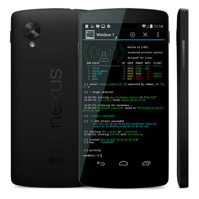 Kali Linux on ANDROID - Offensive Security Limited Edition - NEXUS 5X