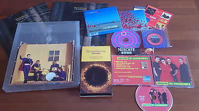 The Cranberries - Wake Up..nescafe Box Taiwan + Salvation Press Kit + Special Cd