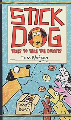 Watson Tom-Stick Dog Tries To Take The Donuts  (US IMPORT)  HBOOK NEW