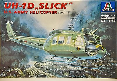"1/48 Italeri UH-1D ""Slick"" US Army Helicopter 