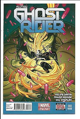 All-New Ghost Rider # 3 (2Nd Print Variant Edition, Sept 2014), Nm New