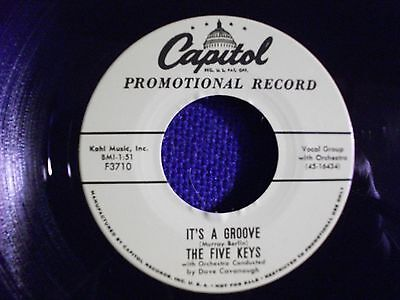 FIVE KEYS Repro 45 - She's The Most   FREE POSTAGE