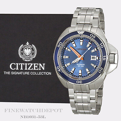 Authentic Citizen Men's Signature Grand Touring Automatic Watch NB1031-53L