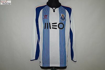 FC Porto 2014 - 2015 Home Warrior Long Sleeve Football shirt SIZE L