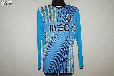 FC Porto Warrior Blue Long Sleeve Football shirt SIZE L
