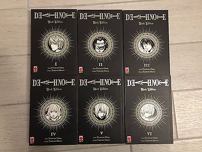 Manga Death Note Black Edition SERIE COMPLETA 1-6