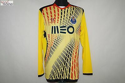 FC Porto Warrior Yellow Long Sleeve Football shirt SIZE L