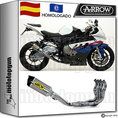 Arrow Sistema Escape Replica Sbk Comp R-T Titano Cc Race Bmw S 1000 Rr 2010 10