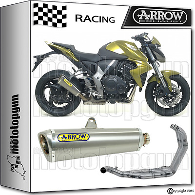 Arrow Tubo De Escape Completo Trophy Titano Race Honda Cb 1000 R 2010 10 2011 11