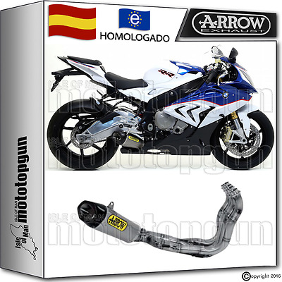 Arrow Escape Competition Evo Works Titano Cc Race Bmw S1000 Rr 2015 15 2016 16