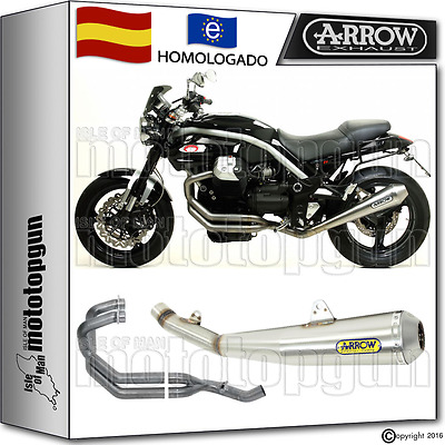 Arrow Sistema Escape Proracing Hom Moto Guzzi Griso 1100 2008 08 2009 09 2010 10