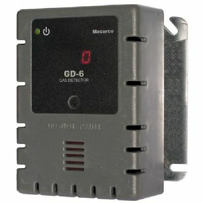 MACURCO GD-6 Gas Detector, C3H8, CH4, H2, 900 sq. ft.