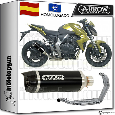 Arrow Sistema Escape Thunder Dark Carbon-Cup Hom Honda Cb 1000 R 2010 10 2011 11