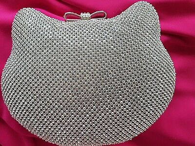 hello kitty prom bag/purse, wedding or special occasion