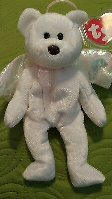 Ty beanie baby halo with ERRORS
