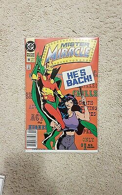 Mister Miracle 19 Early Adam Hughes Cover VFNM