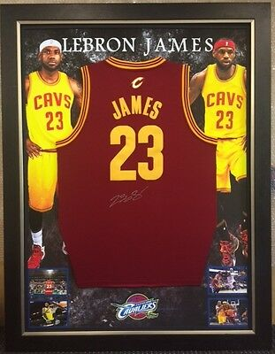 LeBRON JAMES HAND SIGNED  CLEVELAND CAVALIERS JERSEY NBA CAVS WITH CERTIFICATE