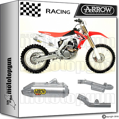 Arrow Tubo Escape Completo Thunder Off-Road Race Honda Crf 250 R 2014 14 2015 15