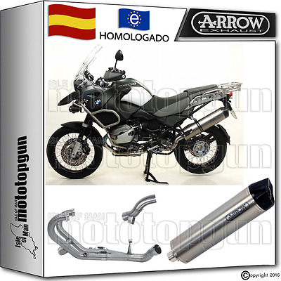 Arrow Sistema Escape Mr-T Titano Cc Hom Bmw R 1200 Gs Adventure 2010 10 2011 11