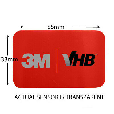 Bmw 1 Series E81 E82 E87 E88 (04 - 11) Windscreen Rain Light Sensor Adhesive Pad