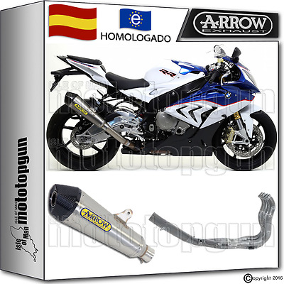 Arrow Sistema Escape X-Cone Nichrom Carbon-Cup Kat Bmw S 1000 Rr 2015 15 2016 16