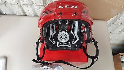 CCM Fitlite FL60 Hockey helmet Red Medium Brand New