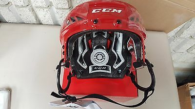 CCM Fitlite FL60 Hockey helmet Red Large Brand New