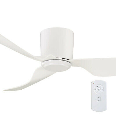 """NEW Mercator City DC 52"""" Low-Profile Ceiling Fan with Remote - FC380133"""
