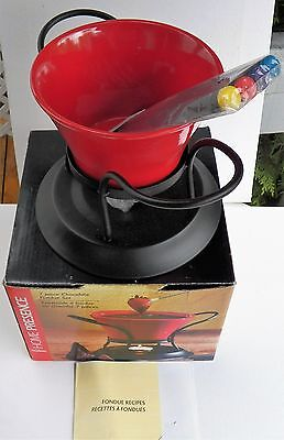 New 7 Piece Chocolate Fondue Set From Home Presence By Trudeau In Original Box