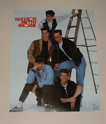 New Kids On The Block Poster #2 - 16X20 - Funky - 1990