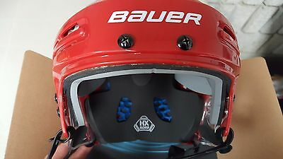 Bauer 5100 Hockey Helmet Red Medium Brand New