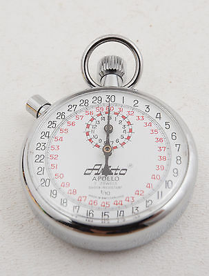Aristo Apollo Stopwatch 1/10 Switzerland Made (B4R) 7 Jewels Shock Resistant