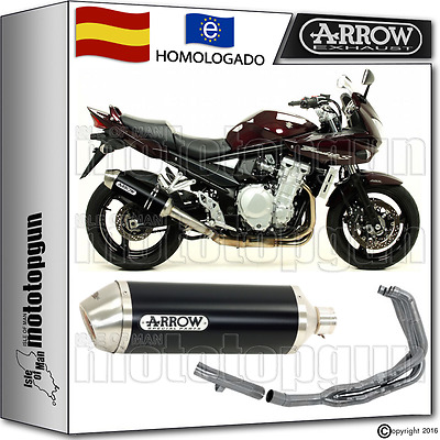 Arrow Sistema Escape Race-Tech Dark Hom Suzuki Gsf 1250 Bandit S 2007 07 2008 08