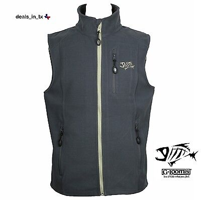 BRAND NEW W/ TAGS ~ G. Loomis Reciprocal Fleece Vest ~ Pewter ~ Extra Large