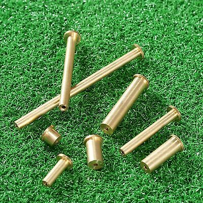 8pcs Brass 2/4/6/8g Golf Plug Weight for .355 & .355 .370 Tip End Steel Shaft