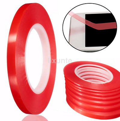 50M Adhesive Double Sided Tape Strong Sticky Tape Mobile Phone Repair 2-10mm US