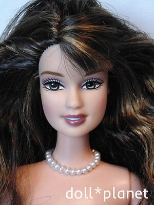TERESA Fashion Fever Barbie Doll OOP HTF nude restyled hair for OOAK or play