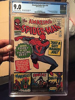 The Amazing Spider-Man #38 CGC 9.0 New Case