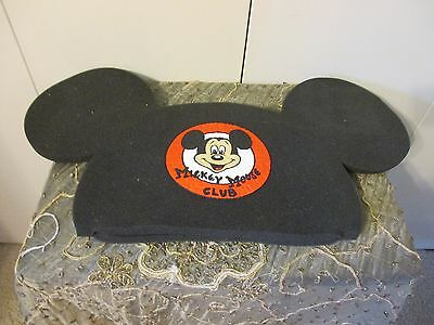 Vtg Oversize Novelty Styrofoam Mickey Mouse Ears.hat