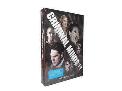 Criminal Minds: The Eleventh Season 11 (DVD, 2016, 6-Disc Set