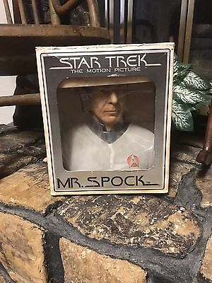 1979 Star Trek the Motion Picture - Mr. Spock Ceramic Decanter