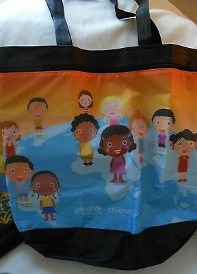 UNICEF Reusable ECO Tote Bag GROCERY Shopping,  - UNUSED