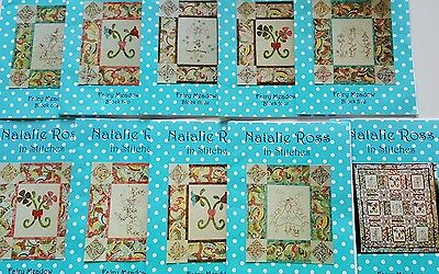 Natalie Ross Fairy Meadow Block of the Month Complete Pattern Set