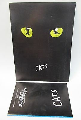Andrew Lloyd Webber 1988 CATS programs Paramount Theater Seattle