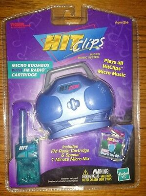 2001 TIGER HIT CLIPS ROCKIN' MICRO BOOMBOX fm radio cartridge P!NK there you go